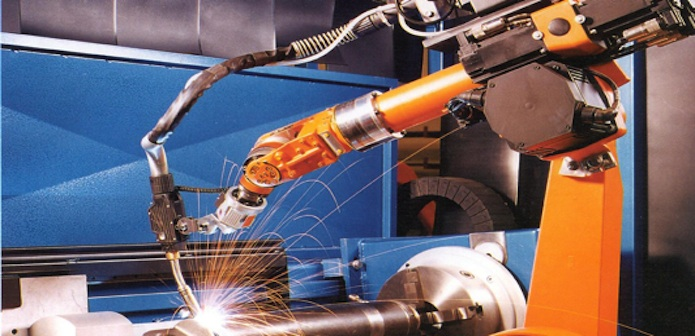 Assembly, robotic welding
